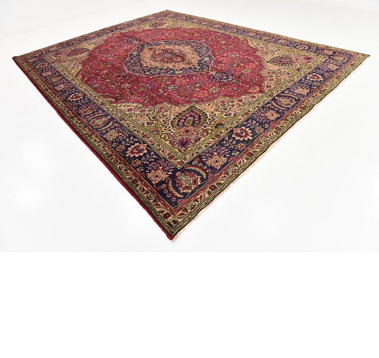 312cm x 395cm Tabriz Persian Rug