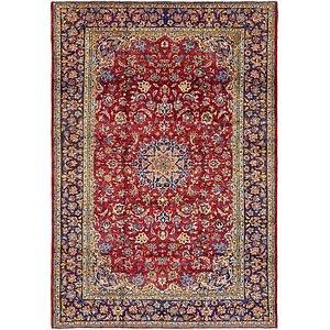 9' x 13' 2 Isfahan Persian Rug
