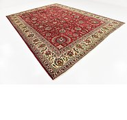 Link to 9' 7 x 13' Tabriz Persian Rug