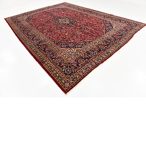 HandKnotted 9' 10 x 13' 2 Mashad Persian Rug