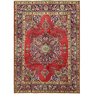 6' 10 x 9' 8 Tabriz Persian Rug