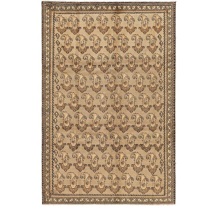 208cm x 305cm Ghashghaei Persian Rug