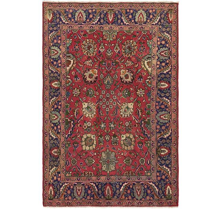 6' 2 x 9' 10 Tabriz Persian Rug