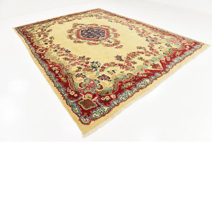 9' 4 x 12' 9 Meshkabad Persian Rug
