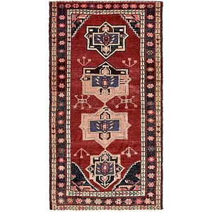 Unique Loom 4' 4 x 7' 5 Hamedan Persian Rug