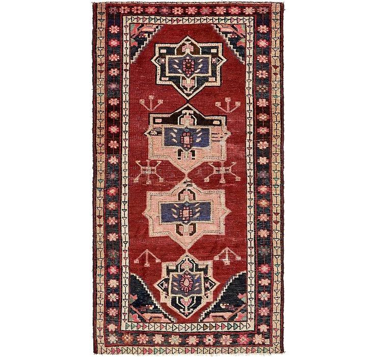 132cm x 225cm Hamedan Persian Rug
