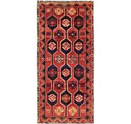 Link to 3' 8 x 7' 10 Shiraz-Lori Persian Runner Rug
