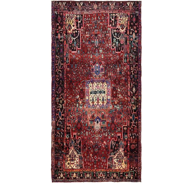 4' 8 x 9' 4 Zanjan Persian Runner Rug