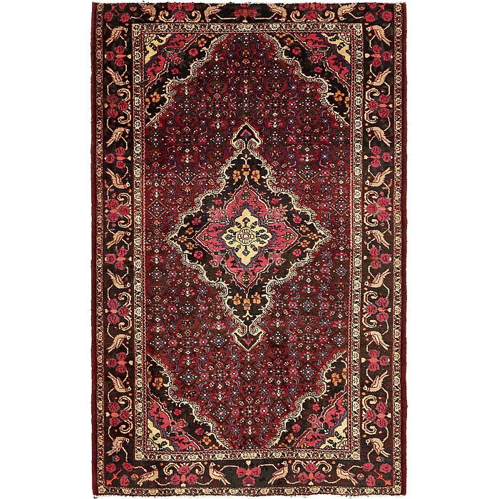 4' 5 x 6' 10 Gholtogh Persian Rug