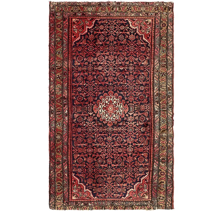 3' 10 x 6' 8 Hossainabad Persian Rug