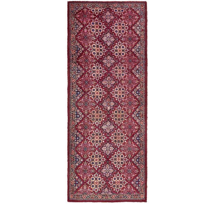 3' 10 x 10' Tabriz Persian Runner Rug