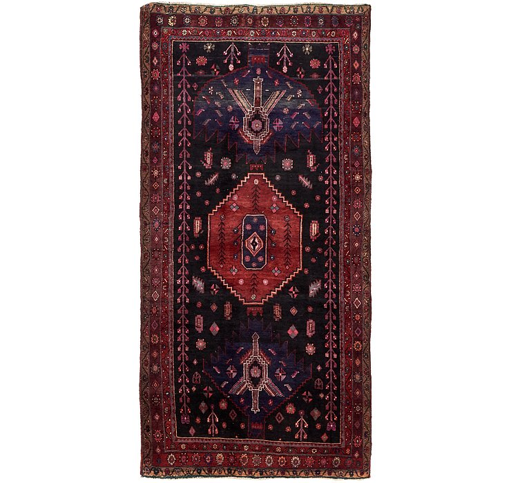152cm x 310cm Sirjan Persian Runner Rug