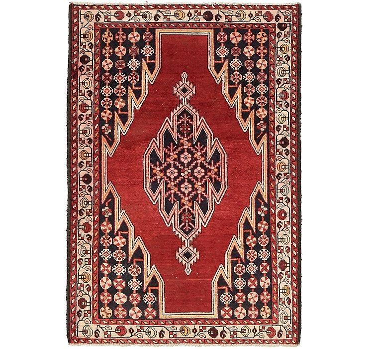 4' 3 x 6' 3 Mazlaghan Persian Rug