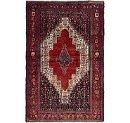 Link to 132cm x 198cm Sanandaj Persian Rug