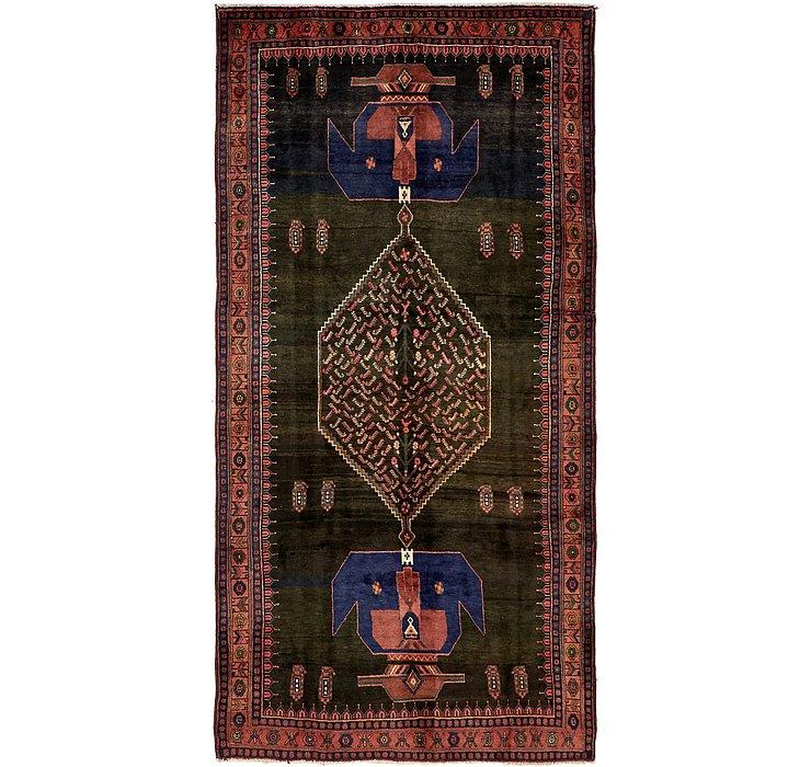 5' 3 x 10' 6 Sirjan Persian Runner Rug