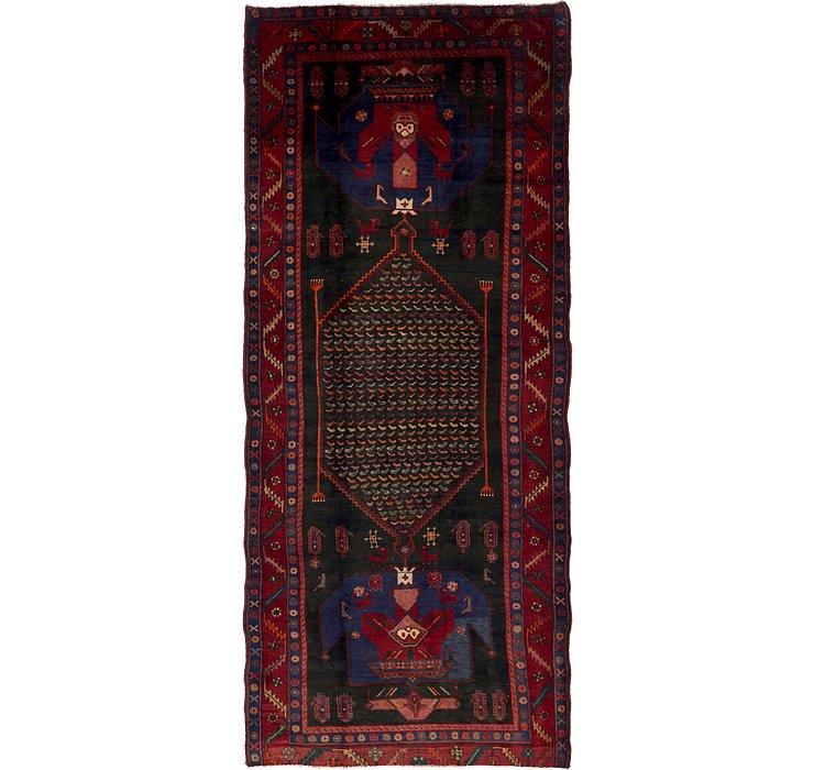 5' x 12' 2 Sirjan Persian Runner Rug