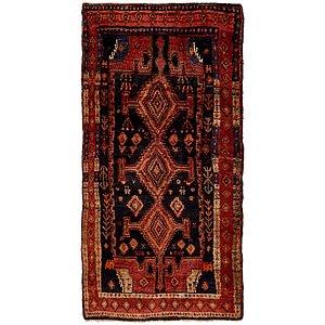 4' 5 x 9' Sirjan Persian Runner Rug