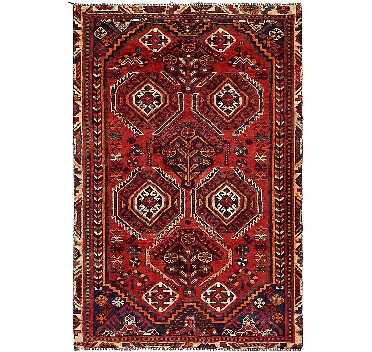 3' 11 x 6' Shiraz Persian Rug