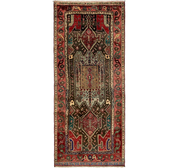 3' 11 x 9' 2 Sirjan Persian Runner Rug