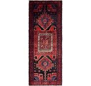 Link to 122cm x 328cm Hamedan Persian Runner Rug