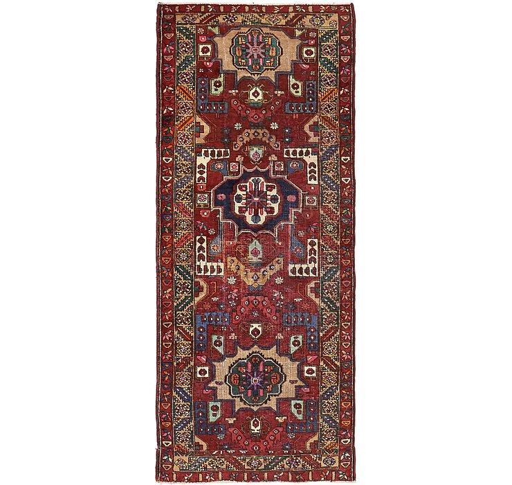 3' 7 x 8' 10 Tabriz Persian Runner Rug