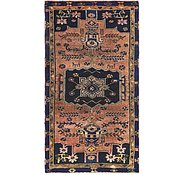 Link to 3' 9 x 7' 2 Hamedan Persian Runner Rug