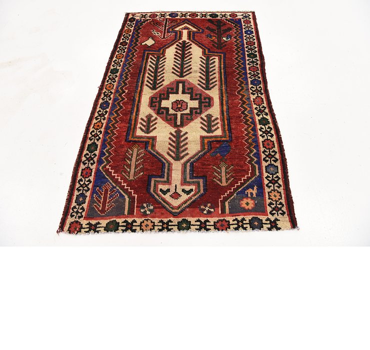 3' 2 x 5' Shiraz Persian Rug