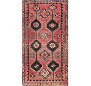 Link to 4' 7 x 9' 1 Shiraz-Lori Persian Runner Rug