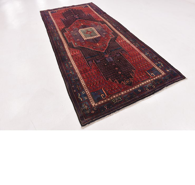 5' x 10' 8 Sirjan Persian Runner Rug