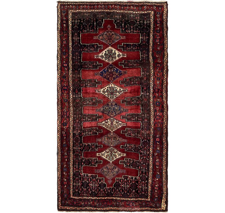 4' 8 x 9' 3 Sanandaj Persian Runner...