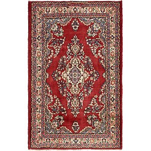 4' 5 x 6' 10 Shahrbaft Persian Rug