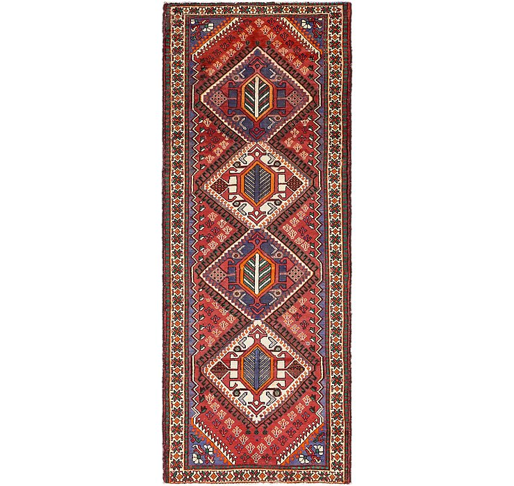 3' 8 x 10' 2 Shiraz Persian Runner Rug
