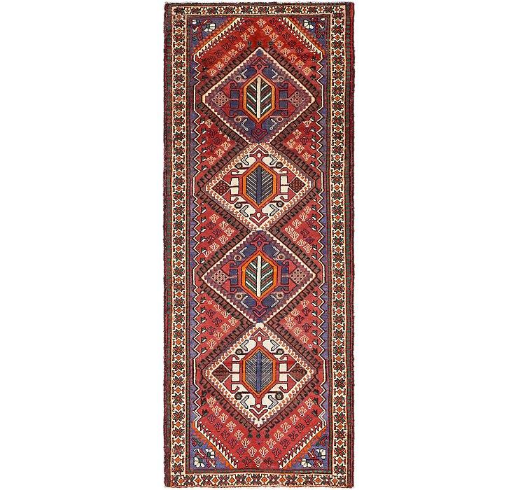 3' 8 x 10' 2 Shiraz Persian Runner Rug