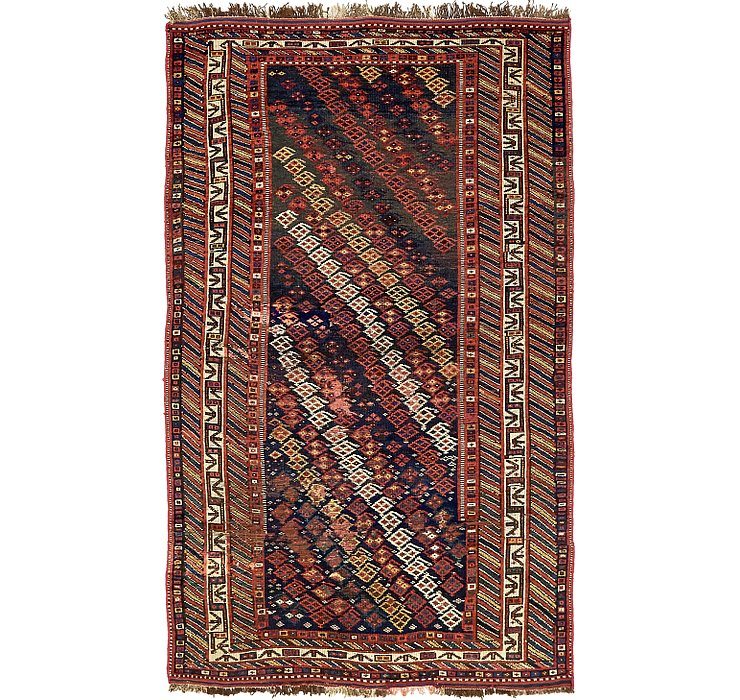 4' 6 x 7' 7 Shiraz Persian Rug