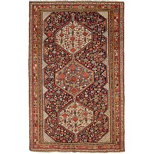 6' 1 x 9' 5 Shiraz Persian Rug