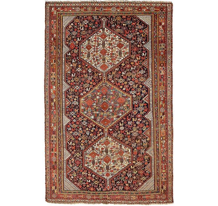 185cm x 287cm Shiraz Persian Rug
