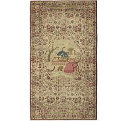 Link to 5' x 8' 9 Qom Persian Rug