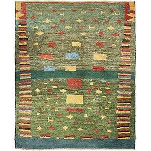 5' x 6' 1 Shiraz-Gabbeh Persian Rug
