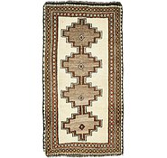 Link to 3' 7 x 6' 5 Shiraz-Gabbeh Persian Rug