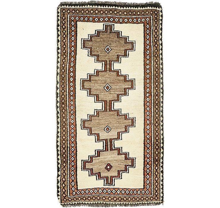 110cm x 195cm Shiraz-Gabbeh Persian Rug