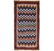 Link to 3' 6 x 6' 5 Shiraz-Gabbeh Persian Rug