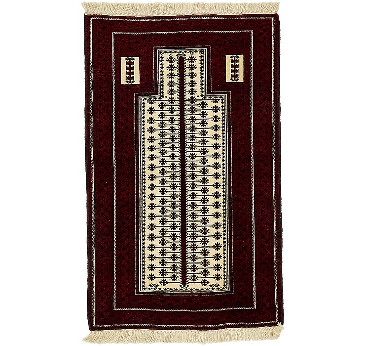 2' 11 x 4' 8 Balouch Persian Rug