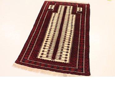 94x155 Balouch Rug