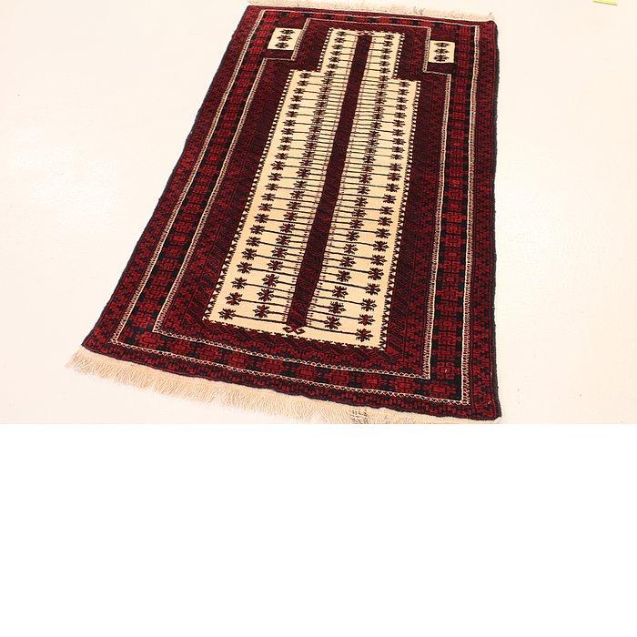 3' 1 x 5' 1 Balouch Persian Rug