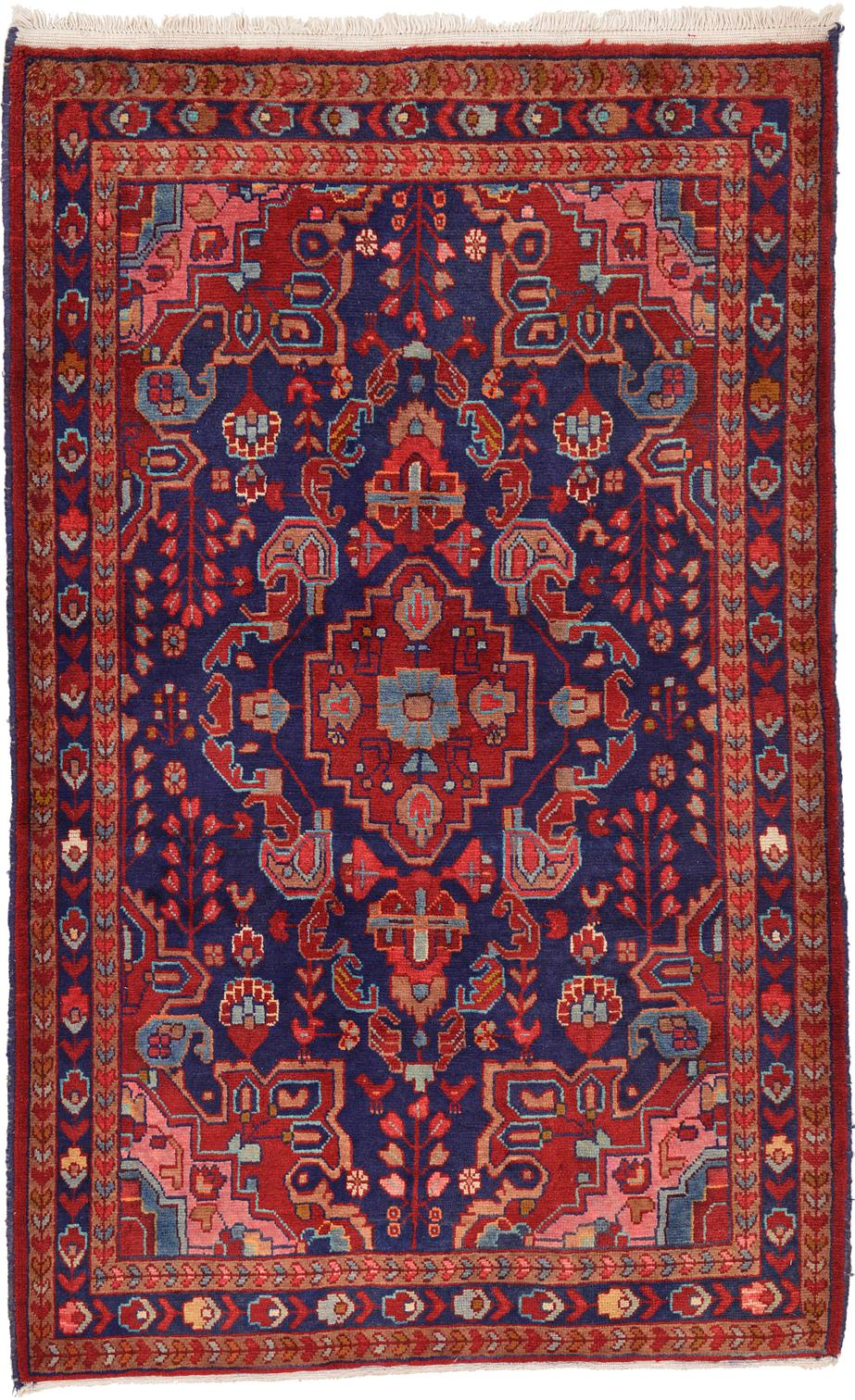 4 3 X 7 1 Hamedan Persian Rug