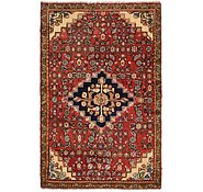 Link to 3' 8 x 5' 10 Hossainabad Persian Rug