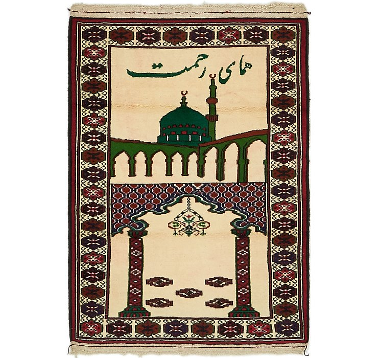 2' 8 x 4' Balouch Persian Rug