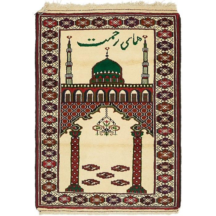 2' 8 x 3' 10 Balouch Persian Rug