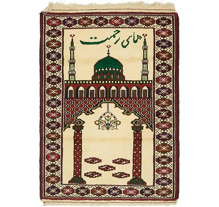 80cm x 117cm Balouch Persian Rug