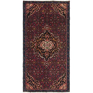 100cm x 188cm Gholtogh Persian Rug